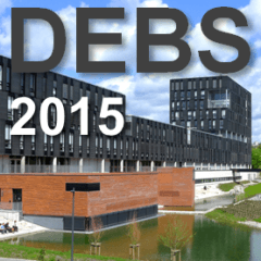 On Distributed, Event-Based Systems at DEBS 2015