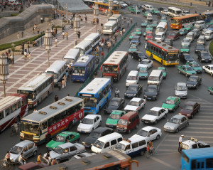 Smart Cities: Managing Traffic in China