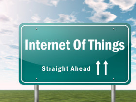 Highway Signpost Internet Of Things