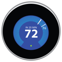 A smart thermostat is an example of a device that provides dynamic IoT data.