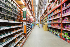 IoT in retail - Home Depot's app helps customers navigate their sprawling aisles.