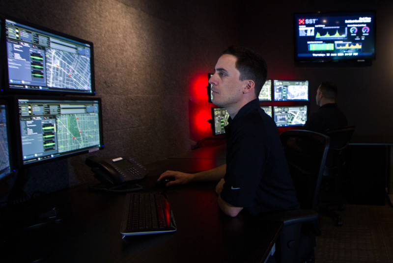 real-time crime center with predictive policing by ShotSpotter