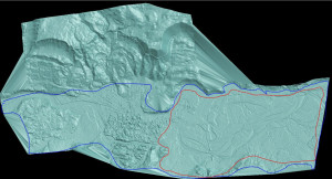 Oso, Washington mudslide 3D map. Source: FIT