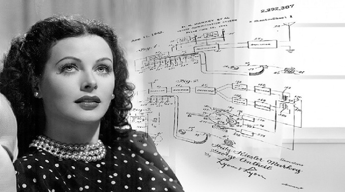 Hedy Lamarr, a 40s movie star, invented FHSS technology.