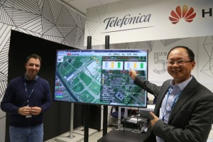Telefonica and Huawei Demonstrate 5G Vehicle Communication Network