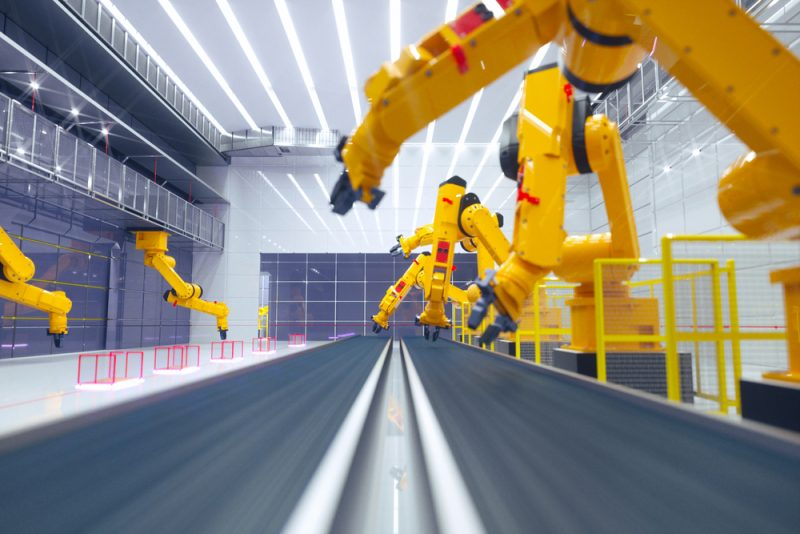 Auto Industry Drives The Smart Factories Movement