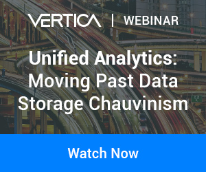 Unified Analytics: Moving Past Data Storage Chauvinism